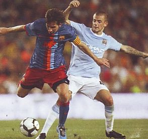 barcelona 2009 to 10 action