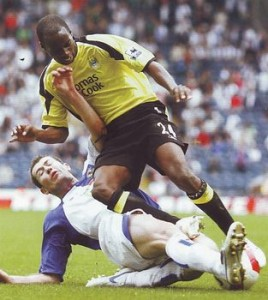 blackburn away 2006 to 07 action3