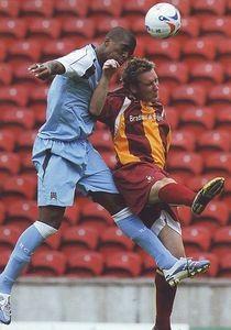 bradford away friendly 2006 to 07 action