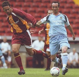 bradford away friendly 2006 to 07 action2