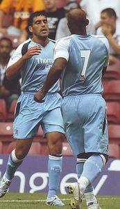 bradford away friendly 2006 to 07 reyna goal celeb