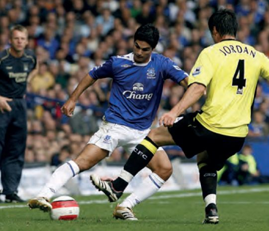 everton away 2006 to 07 action8