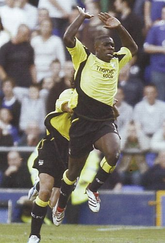 everton away 2006 to 07 richards goal celeb