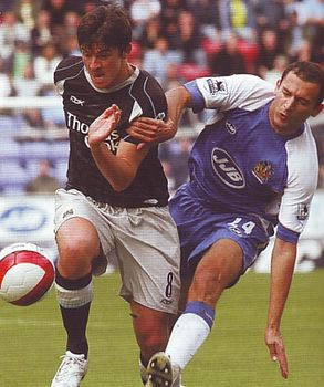 wigan away 2006 to 07 action3