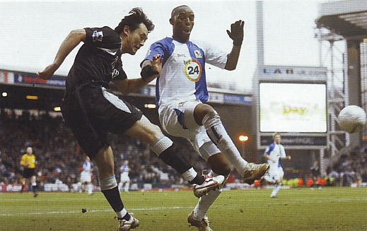 blackburn fa cup 2006 to 07 action