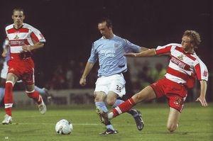 doncaster away 2005 to 06 action2