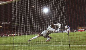 doncaster away 2005 to 06 dunne pen miss
