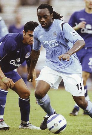 everton asia trophy 2005 to 06 action