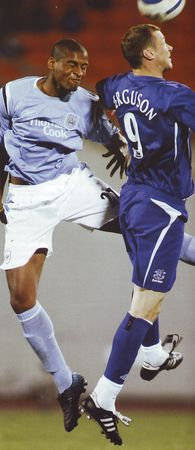 everton asia trophy 2005 to 06 action2