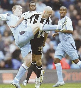 newcastle home 2006 to 07 action6