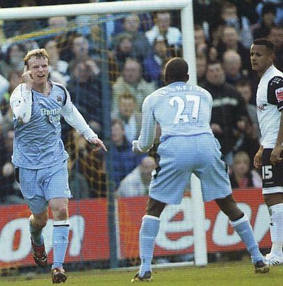 preston fa cup 2006 to 07 ball goal celeb