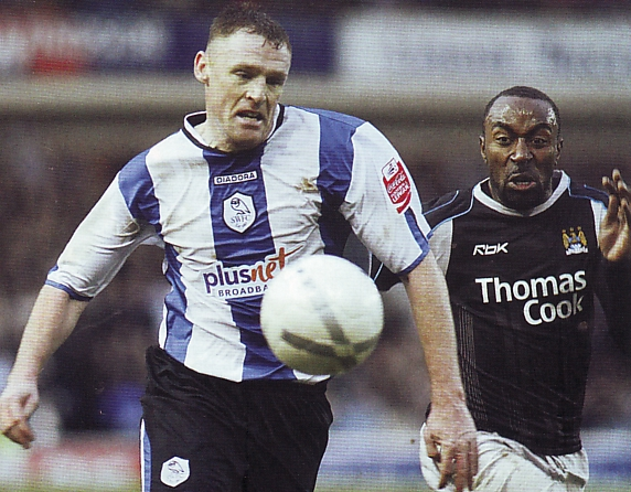 sheff weds away fa cup 2006 to 07 action