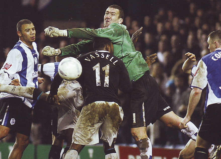 sheff weds away fa cup 2006 to 07 action2
