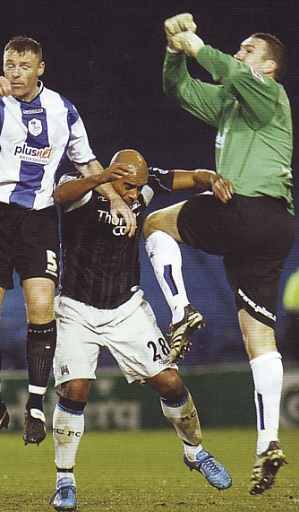 sheff weds away fa cup 2006 to 07 action3