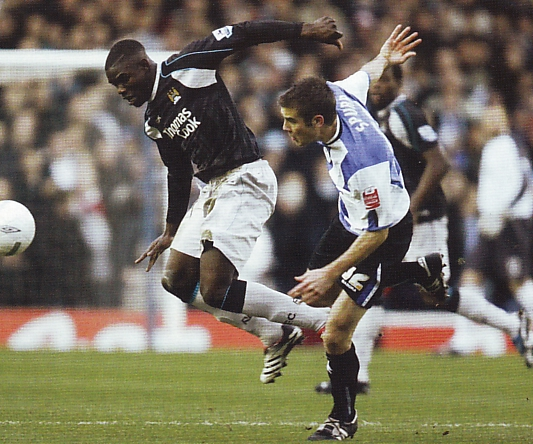 sheff weds away fa cup 2006 to 07 action6