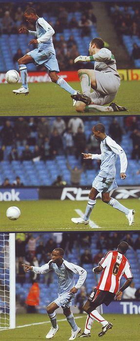 southampton home fa cup 2006 to 07 beasley goal