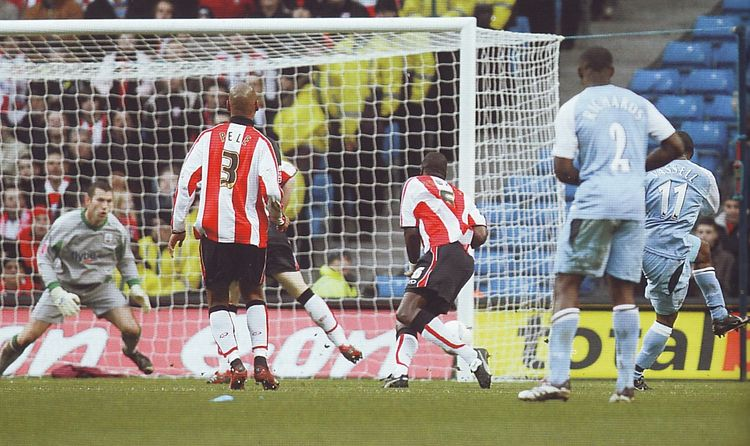 southampton home fa cup 2006 to 07 vassell goal