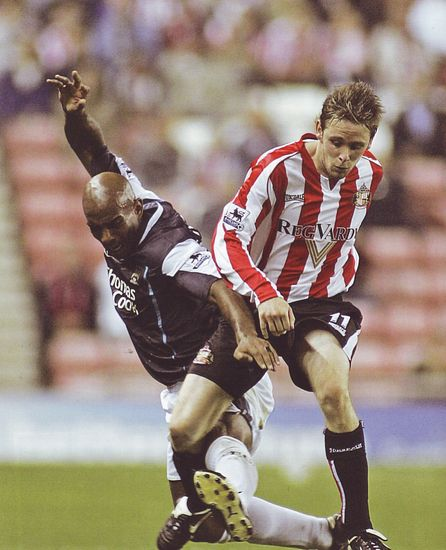 sunderland away 2005-06 action