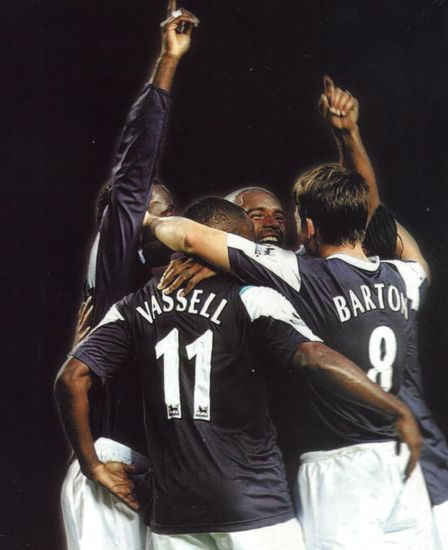 sunderland away 2005-06 goal celeb