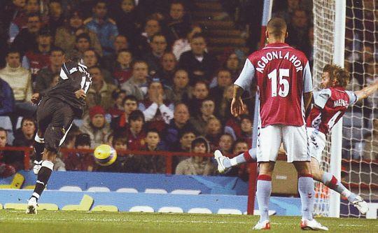 villa away 2006 to 07 vassell 1st city goal2