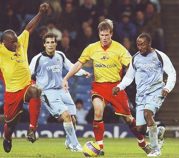 watford home 2006 to 07 action