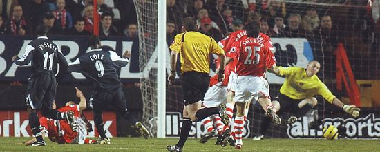 2005-06 charlton away cole citys 1st goal2