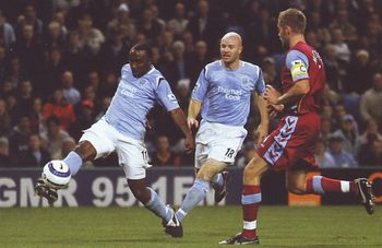 aston villa home 2005 to 06 vassell 2nd goal