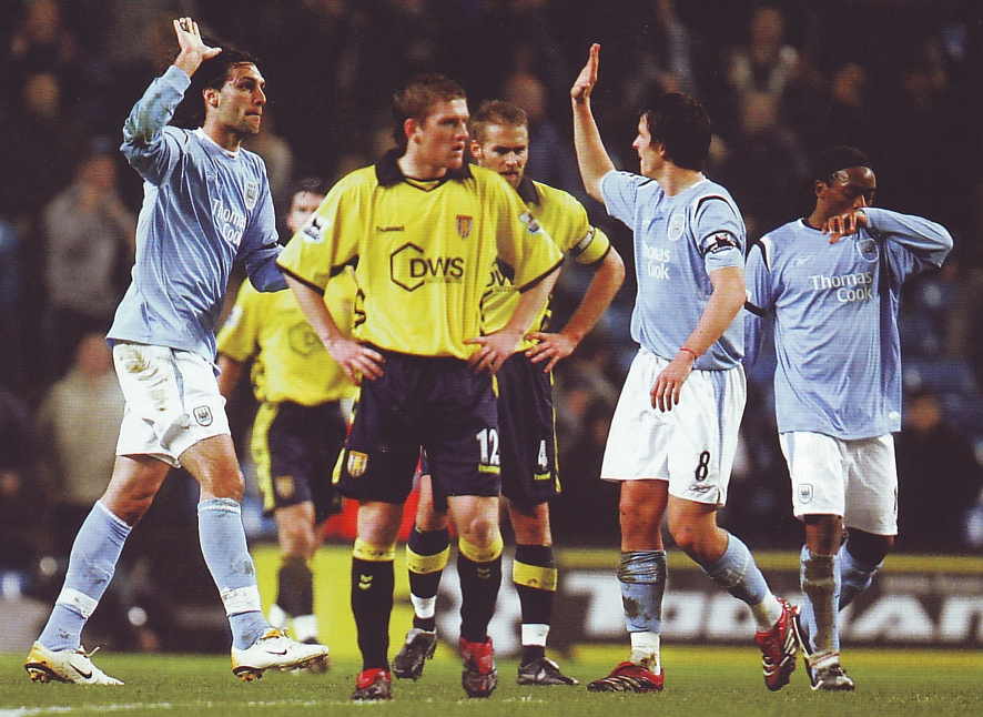 aston villa home fa cup replay 2005 to 06 samaras goal