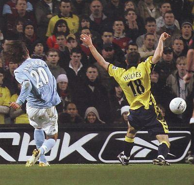aston villa home fa cup replay 2005 to 06 samaras goal2
