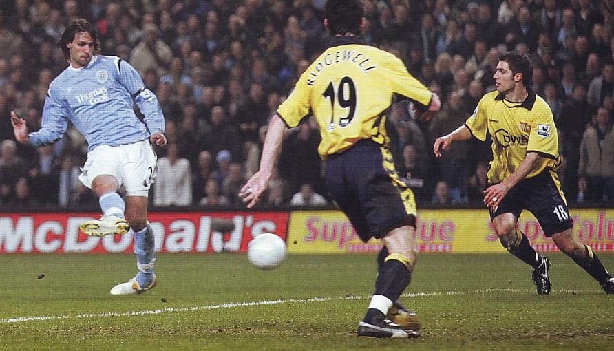 aston villa home fa cup replay 2005 to 06 samaras goal3