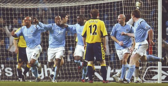 aston villa home fa cup replay 2005 to 06 vassell goal 2