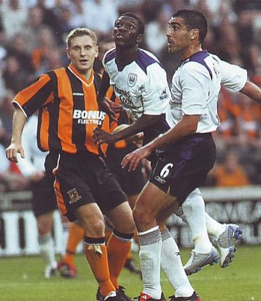 hull friendly 2004 to 05 swp citys 1st goal