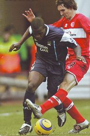 middlesbrough away 2005 to 06 action3