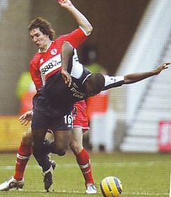 middlesbrough away 2005 to 06 action4
