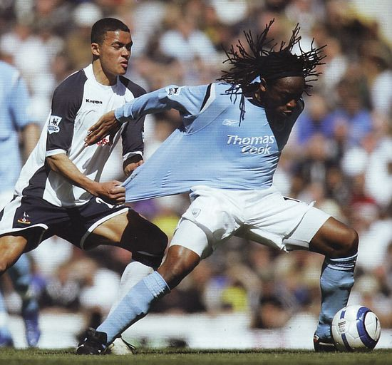 tottenham away 2005 to 06 action