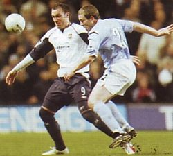 west ham home fa cup 2005 to 06 action