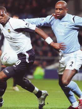 west ham home fa cup 2005 to 06 action3