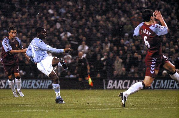 aston villa home 2004 to 05 swp goal