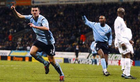 bolton away 2004 to 05 barton goal