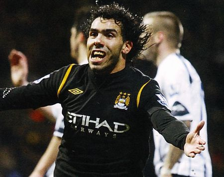 bolton away 2009 to 10 2nd tevez goal