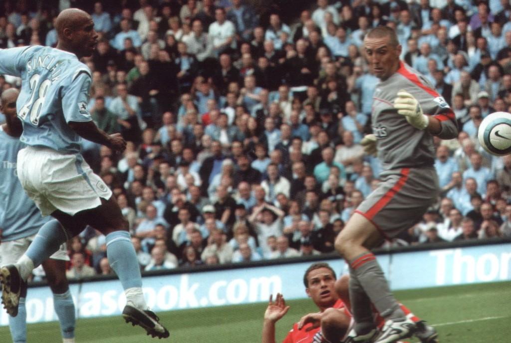 charlton home 2004 to 05 sinclair goal