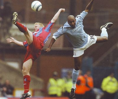 crystal palace away 2004 to 05 action