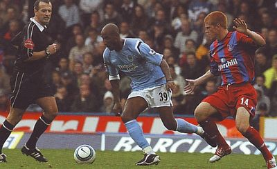 crystal palace away 2004 to 05 action2
