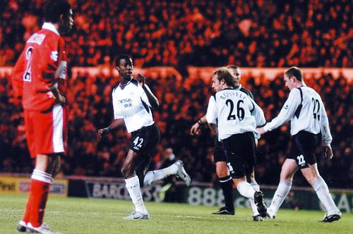 middlesbrough away 2004 to 05 bwp goal celeb