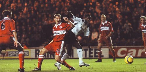 middlesbrough away 2004 to 05 bwp goal