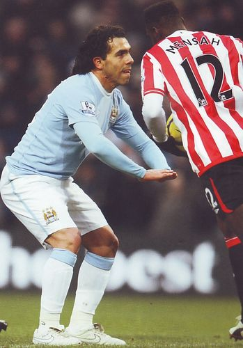 sunderland home 2009 to 10 tevez goal