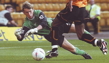wolves friendly 2004 to 05 action