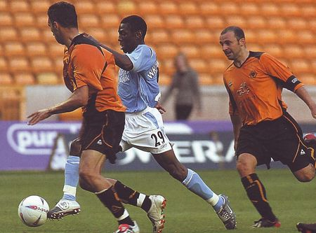 wolves friendly 2004 to 05 action2