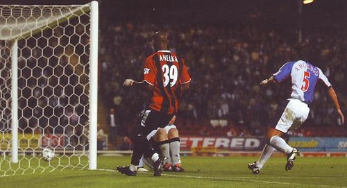 blackburn away 2003 to 04 anelka goal