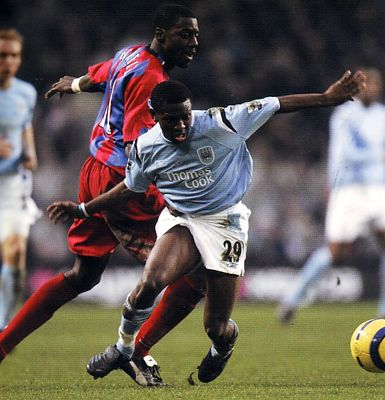 crystal palace home 2004 to 05 action